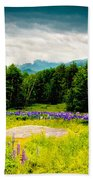 Purple And Mountains And Majesty Beach Towel