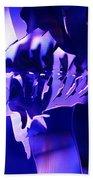 Purple Blue Fish...   # Beach Towel