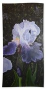 Purple Elegance Beach Towel