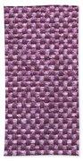 Purple Fabric Beach Towel