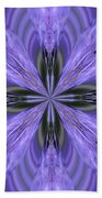 Purple Fantasy Beach Towel