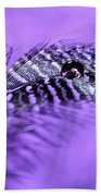 Purple Flight Beach Towel