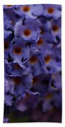 Purple Flowers 2 Beach Towel