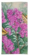 Purple Haze Cafe Beach Towel