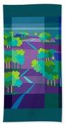 Purple Hill Farms Beach Towel