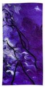 Purple Mood Beach Towel