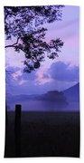 Purple Mountain Majesty Beach Towel