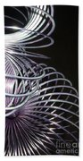 Purple Slinky Beach Towel