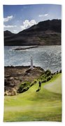 Putting Green In Paradise Beach Towel