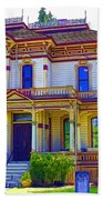 Puyallup Mansion In Washington State Beach Towel