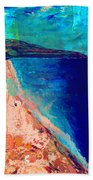 Pv Abstract Beach Towel