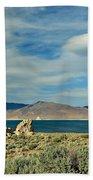 Pyramid Lake Beach Towel