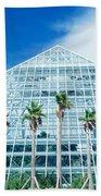Pyramid, Moody Gardens, Galveston Beach Towel