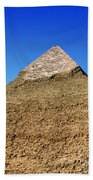 Pyramids Of Giza 15 Beach Towel by Antony McAulay