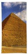 Pyramids Of Giza 28 Beach Towel