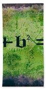 Pythagorean Theorem Beach Towel