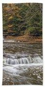 Quarry Rock Falls Beach Towel
