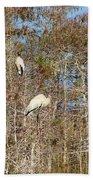 Quartet In The Trees Beach Towel