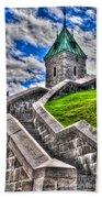 Quebec City Fortress Gates Beach Towel