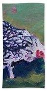 Queen Annes Lace        Hen Beach Towel