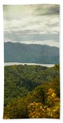 Queen Charlotte Sound Beach Towel
