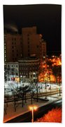 Queen City Winter Wonderland After The Storm Series 0015 Beach Towel