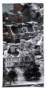 Queen City Winter Wonderland After The Storm Series 0028b Beach Towel