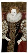 Queen Elizabeth I (1533-1603) Beach Towel