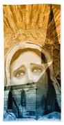 Queen Of Angels Beach Towel