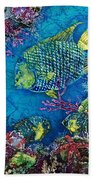 Queen Of The Sea Beach Towel