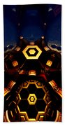 Queen's Chamber Beach Towel by Jeff Iverson