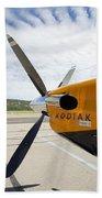 Quest Kodiak Aircraft Beach Towel