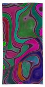 Quiet Abstraction Beach Towel