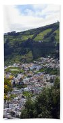 Quito From El Panecillo Beach Towel
