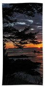 Quoddy Sunrise Beach Towel by Marty Saccone