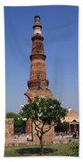 Qutab Minar - New Delhi - India Beach Sheet