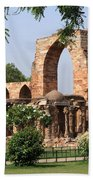 Qutab Minar Ruins Beach Sheet