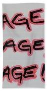R R R Beach Towel