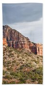 Rabbit Ears Spire At Sunset Beach Towel
