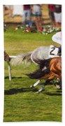 Race 6 - Del Mar Horse Race Beach Towel