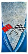 Race To Win Beach Towel