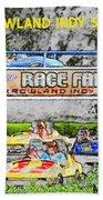 Racing Dreams Beach Towel