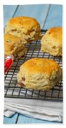 Rack Of Scones Beach Towel