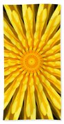 Radial Love Beach Towel