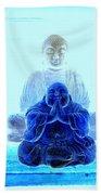 Radiant Buddhas Beach Towel