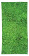 Radiation Green Beach Towel