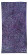 Radiation Violet  Beach Towel