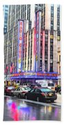 Radio City Music Hall New York City - 2 Beach Towel