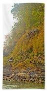 Rafting Near Shore In The Seti River-nepal   Beach Towel