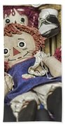 Raggedy Ann And Andy Beach Towel